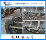línea plástica de la protuberancia del tubo del conducto del PVC de 16mm-40m m/tubo doble del PVC que hace la máquina