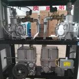 Pompa di benzina degli ugelli del doppio della stazione e di 4 visualizzazioni