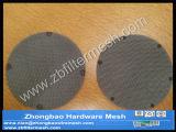 Tela da extrusora do filtro do bloco da rotação do aço inoxidável