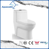 Tocador de cerámica del armario de una sola pieza de Siphonic del cuarto de baño (AT0200)