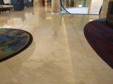 大きいサイズの自然な砥石で研がれたCrema Marfilのベージュ大理石の工場価格