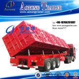 Hochleistungs3 Wellen 50 des seitlichen Speicherauszug-halb Lastkraftwagen- mit Kippvorrichtungtonnen Schlussteil-(LAT9404D)