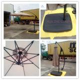 Зонтик Sun парасоля зонтика зонтика сада зонтика банана нажима руки Hz-Um73 10ft (3m) вися напольный