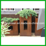 FO-9c17 de Pot van de Bloem van het Staal van Corten voor de Decoratie van de Tuin