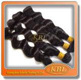 Kbl広州からの緩い波状のペルーの毛