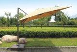 10X10FT parapluie de parapluie quadrillé à rayons ensoleillée parapluie de soleil Parasol de plage