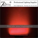 DMX 색깔 바 24 RGBWA LED 스튜디오 점화