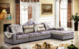 غرفة المعيشة نيو كلاسيك قماش الأريكة في غرفة المعيشة (2162B)