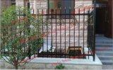 Het aangepaste Gegalvaniseerde Schermen van het Staal van de Tuin van /Welded van de Omheining van het Smeedijzer van de Veiligheid van de Tuin Zwarte Poeder Met een laag bedekte