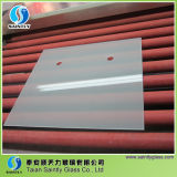 4mm Low Iron Construction Frost Glass