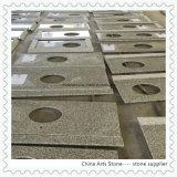 G623 granito grigio cinese Vanitytop e controsoffitto per la stanza da bagno