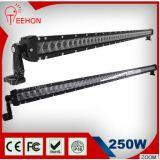 50 barra clara do diodo emissor de luz da polegada 250W, luz Offroad da barra do diodo emissor de luz 4X4