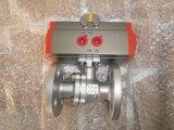 Pneumatischer Stellzylinder - Namur-Standardmultifunktionsstellungsanzeiger-Sichtbarmachungs-Anzeige