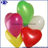 多色刷りのハート形の気球
