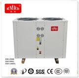 Strumentazione raffreddata aria dell'acqua calda della pompa termica
