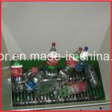 Двойные бутылки валов/мешки/отход/пластичная рециркулируя машина