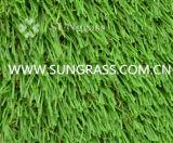 Herbe artificielle d'horizontal doux (SUNQ-HY00135)
