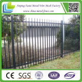Puder Coated Spear Top Tubular Steel Fence Panels für Au Market