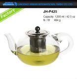 nuova brocca di vetro del creatore di tè 400-1200ml con il filtro dall'acciaio inossidabile