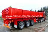 Remorque normale ondulée verticale de camion de flanc de 3 essieux