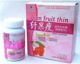 فقدان تشيان فاكهة رقيقة الفاكهة ينحل وزن كبسولة حمية الحبوب لتخفيف الوزن