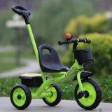 中国のセリウムの公認の赤ん坊の三輪車のベビーカーは三輪車Trikeをからかう