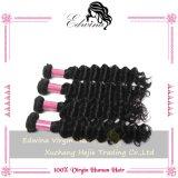 7A Edwina Hair Products бразильское Deep Wave Virgin Hair