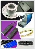 Машина маркировки лазера металла волокна логоса хорошего качества для Я-Пусковой площадки, iPhone/Apple, ювелирных изделий