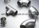 Valve de usinage de pipe d'attache d'acier inoxydable (bâti de précision)