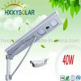 40W tutto in un indicatore luminoso di via solare del LED per esterno