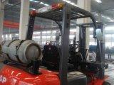 O Ce \ ISO9001 aprovou 2 o Forklift da tonelada Gasoline/LPG com motor de Nissan
