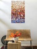 Peinture à l'huile abstraite - modèle neuf (DABS0098)