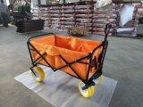 Freizeit-faltender Lastwagen für das gehende Kampieren mit PU-Rad