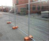 Горячий окунутый гальванизированный временно ограждать для здания