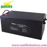 batería de plomo de la energía solar del ciclo profundo 12V200ah para el recurso seguro de la UPS