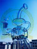 Farbiges Filterglocke-Glasquarz Famale Filterglocke-Trinkwasserbrunnen-Rosa-Wasser-Rohre neues Perc unbesonnenes preiswertes rauchendes Wasser-Glasrohr