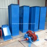 Elevador de compartimiento múltiple del acero de carbón de la altura de la capacidad grande