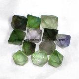 Pedra áspera da pepita da fluorite de cristal da pedra Semi preciosa