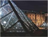 Vidro LED para decoração