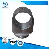 Heißer Schmieden CNC, der materielle Hydrozylinder 1045 Spre Teil-Zylinder-Unterseite maschinell bearbeitet