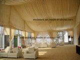 Tenda bianca del tetto della decorazione della tenda di cerimonia nuziale della tenda foranea del rivestimento di 300 Seater