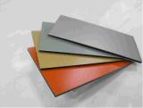 Feuille en aluminium de panneau composé en aluminium de couleur de Matt pour la décoration