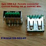 9 fermaglio di Pin USB3.0 per l'adattatore di potere di carico di Qualcomm/calcolatore veloce/HDD/Laptop mobile