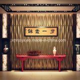 Пожаробезопасная панель стены ядровой абсорбциы 3D для лоббиа гостиницы декоративного