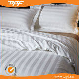 Cotone 100% 3cm Stripes White 4 PCS Hotel Bedding Sets (DPFB80103)