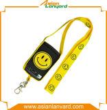 Lanière personnalisée de détenteur de carte de qualité
