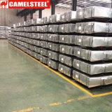 Toiture en acier ondulée plongée chaude de zinc pour le matériau de construction