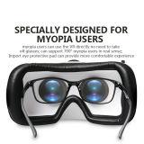 De virtuele 3D Verre Glazen van de Doos van Vr van de Werkelijkheid + Controlemechanisme Bluetooth