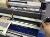 Lamineur pneumatique de machine du découpage Mf2300-C3 de papier, chaud et froid feuilletant