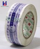 Band van de Verpakking BOPP van de goede Kwaliteit de Aangepaste Embleem Afgedrukte Zelfklevende